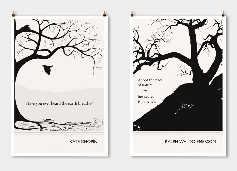14 Literary Posters That Turn Famous Authors Words Into Art Huffpost