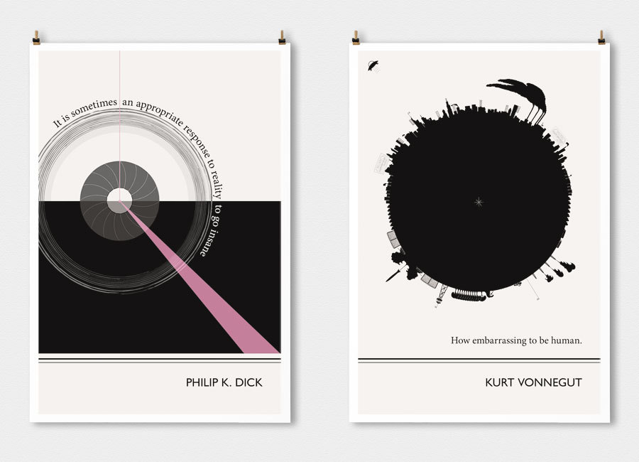 14 literary posters that turn famous authors 39 words into for What is the best poster website