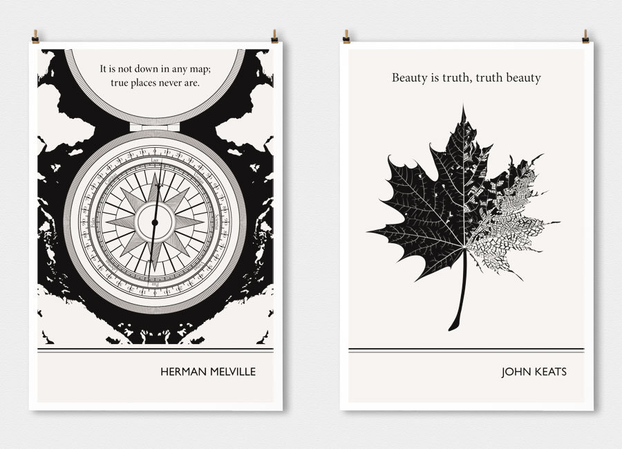 14 Literary Posters That Turn Famous Authors' Words Into Art ...