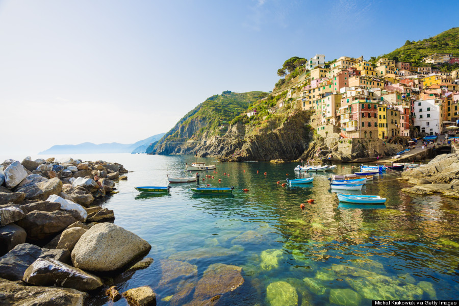 Riomaggiore Italy Is The Most Beautiful Place In World Right