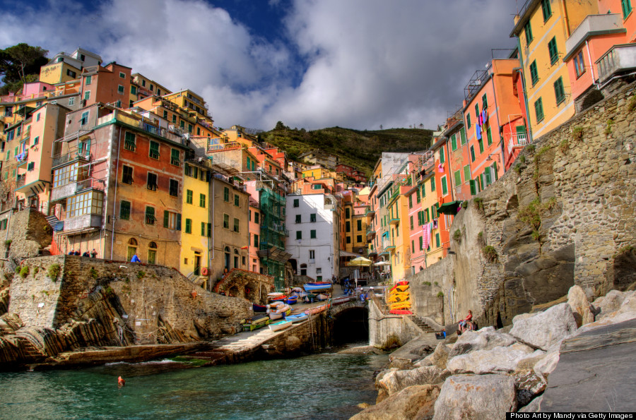 Riomaggiore Italy Is The Most Beautiful Place In The World Right Now Huffpost