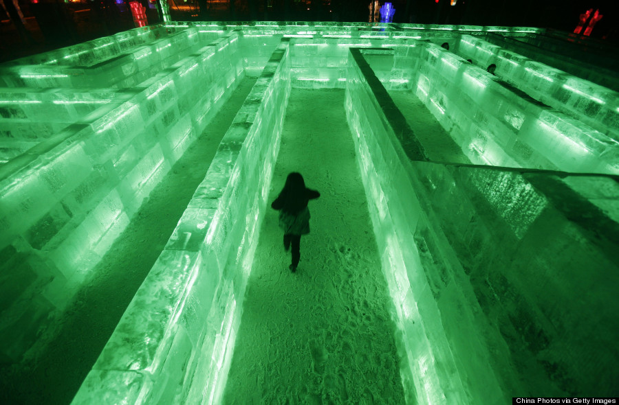 ice maze china