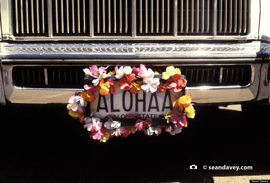 aloha license plate