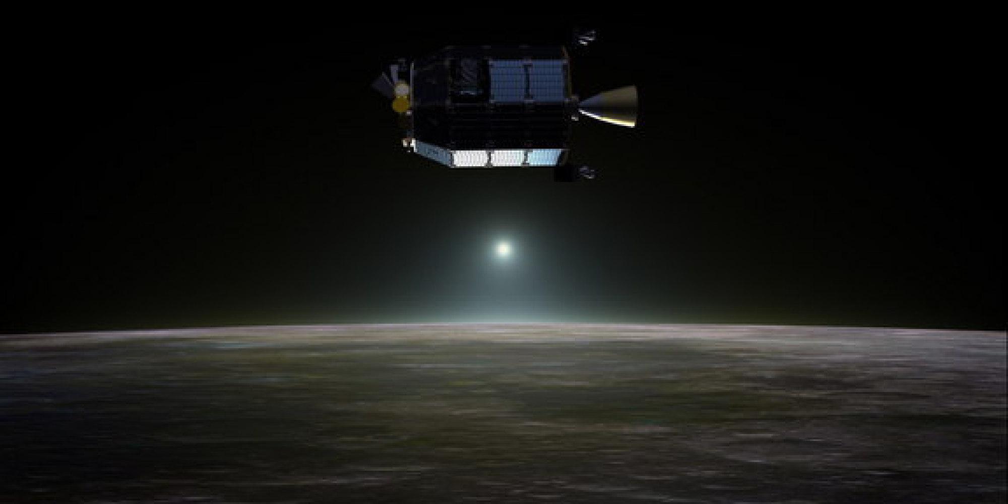 lunar dust in space - photo #18