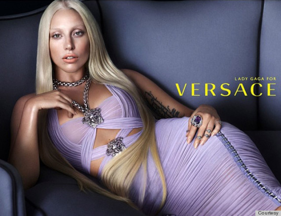 Lady Gaga Looks Like Donatella Versace, New Face of Versace