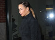 Kim Kardashian Rocks A Little Black Dress To Kanye West's Madison Square Garden Show