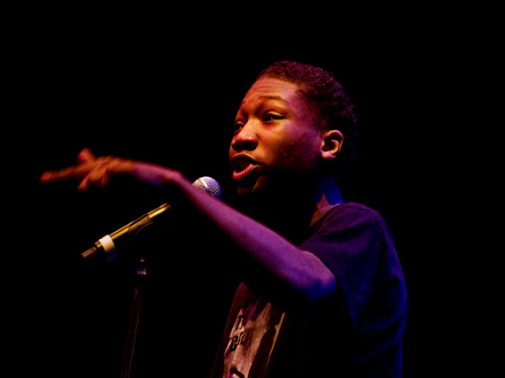 Louder Than A Bomb: Slam Poetry Festival Allows Teen Poets To Shine. Johnson