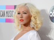 Christina Aguilera Wows In Slinky White Dress At The AMAs