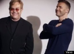 WATCH: Elton And Gary Come Face To Face