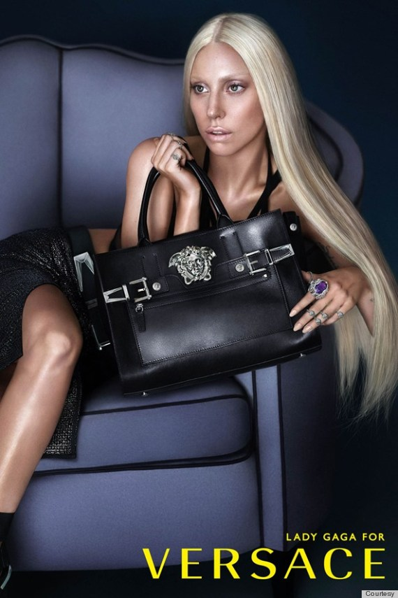 Donatella Versace Interview Lady Gaga