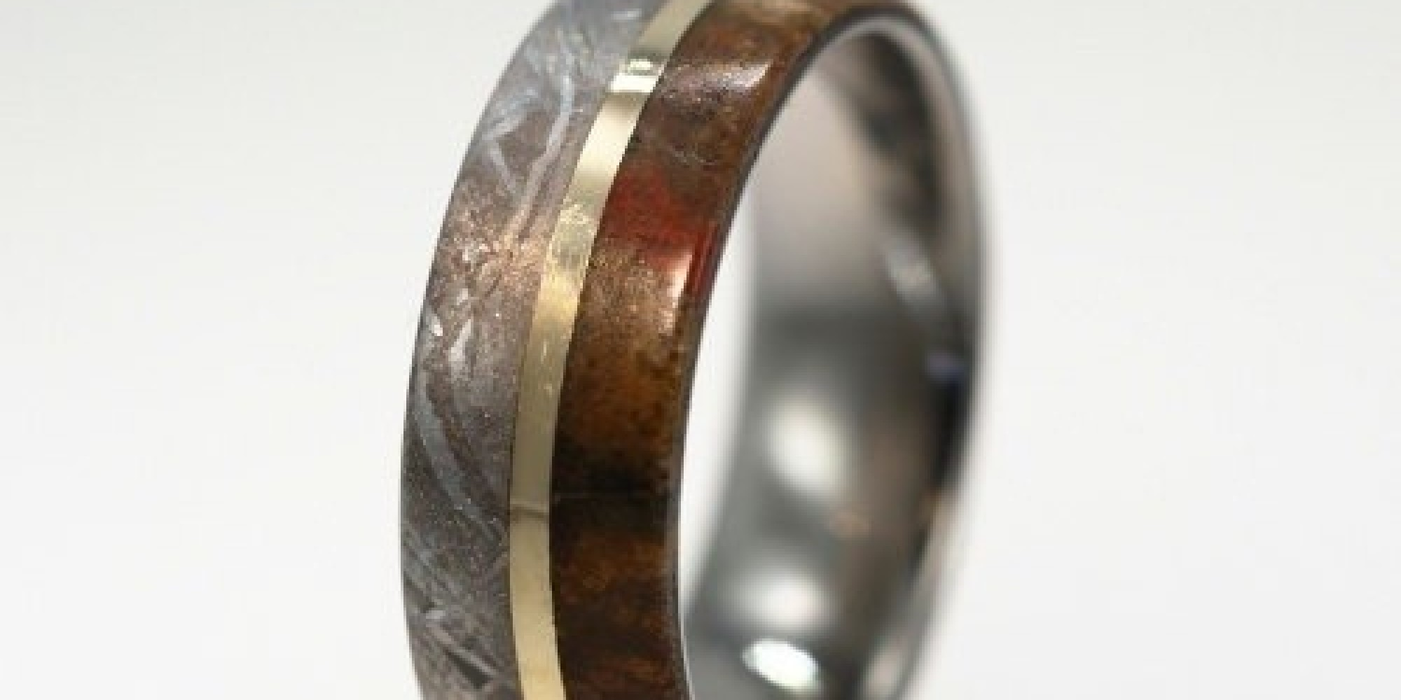 This Beautiful Wedding Band Is Actually Made Of Dinosaur Bone  Huffpost