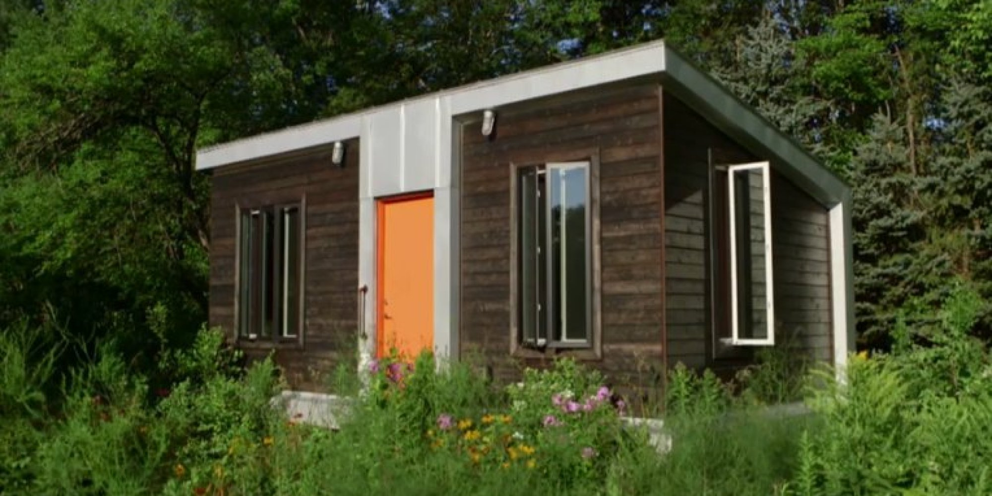 Tiny House Floor Plans Small Cabins Tiny Houses Small: The 'Yestermorrow' House Will Change Your Mind About Tiny