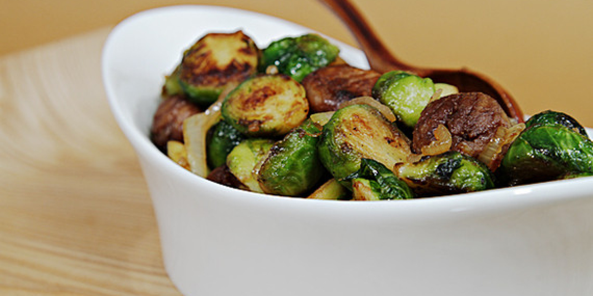 Maple-glazed Pan-roasted Brussels Sprouts With Chestnuts ...