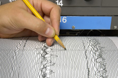 File image: Seismograph | Pic: Getty