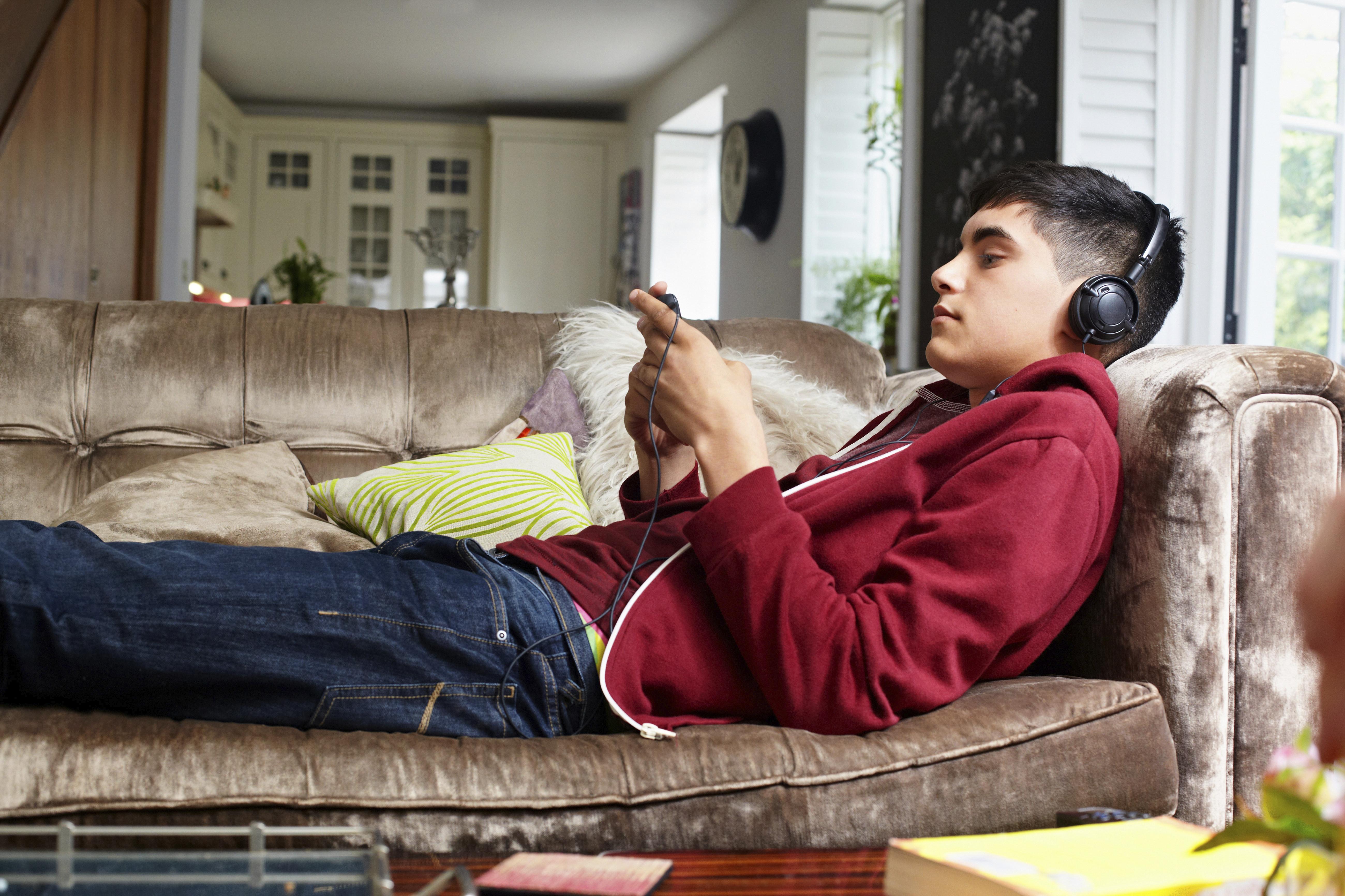 lazy teen