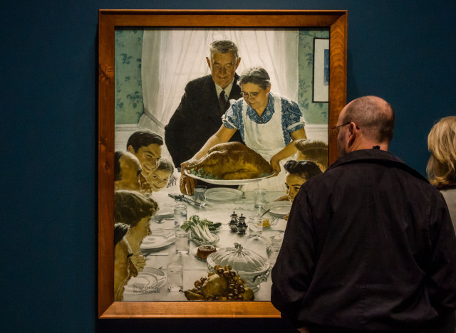 norman rockwell freedom of want