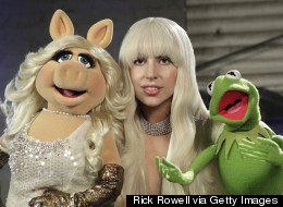 WATCH: Gaga Sings With The Muppets!
