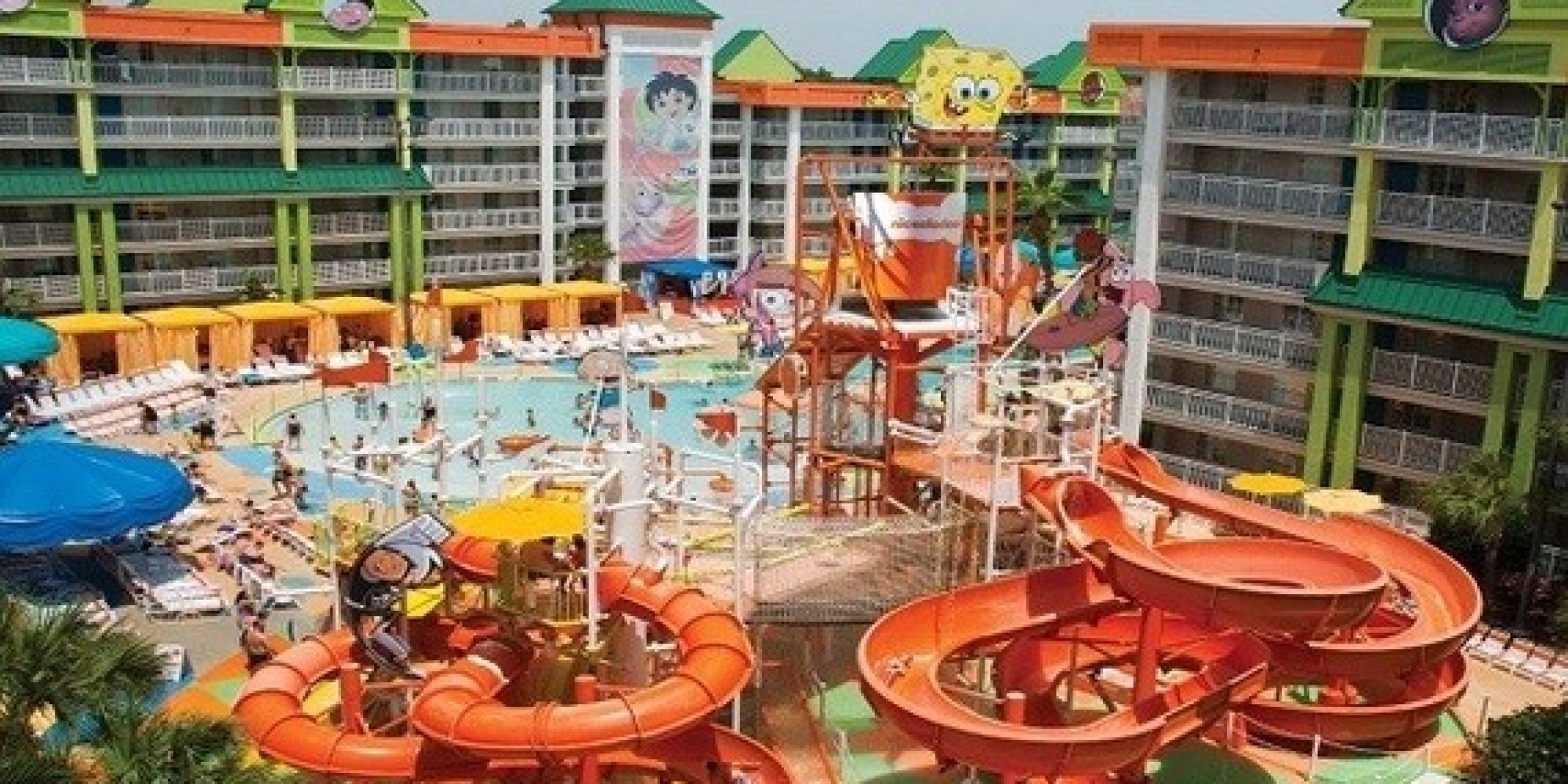 orlando's most amazing hotel pools | huffpost