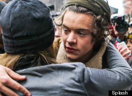 Super Harry! 1D Star Rescues A Falling Fan