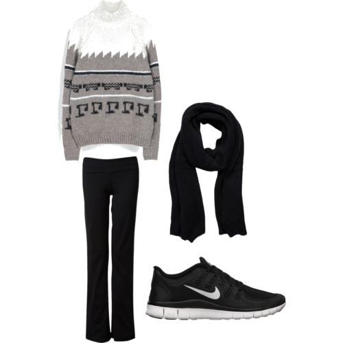Cute Yoga Pants Outfit Ideas