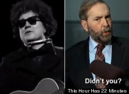 WATCH: Mulcair Mocks Tories In 22 Minutes' Bob Dylan Parody