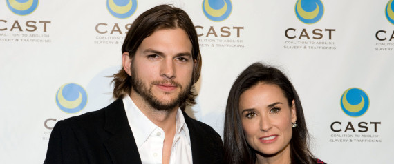 demi moore ashton kutcher divorced