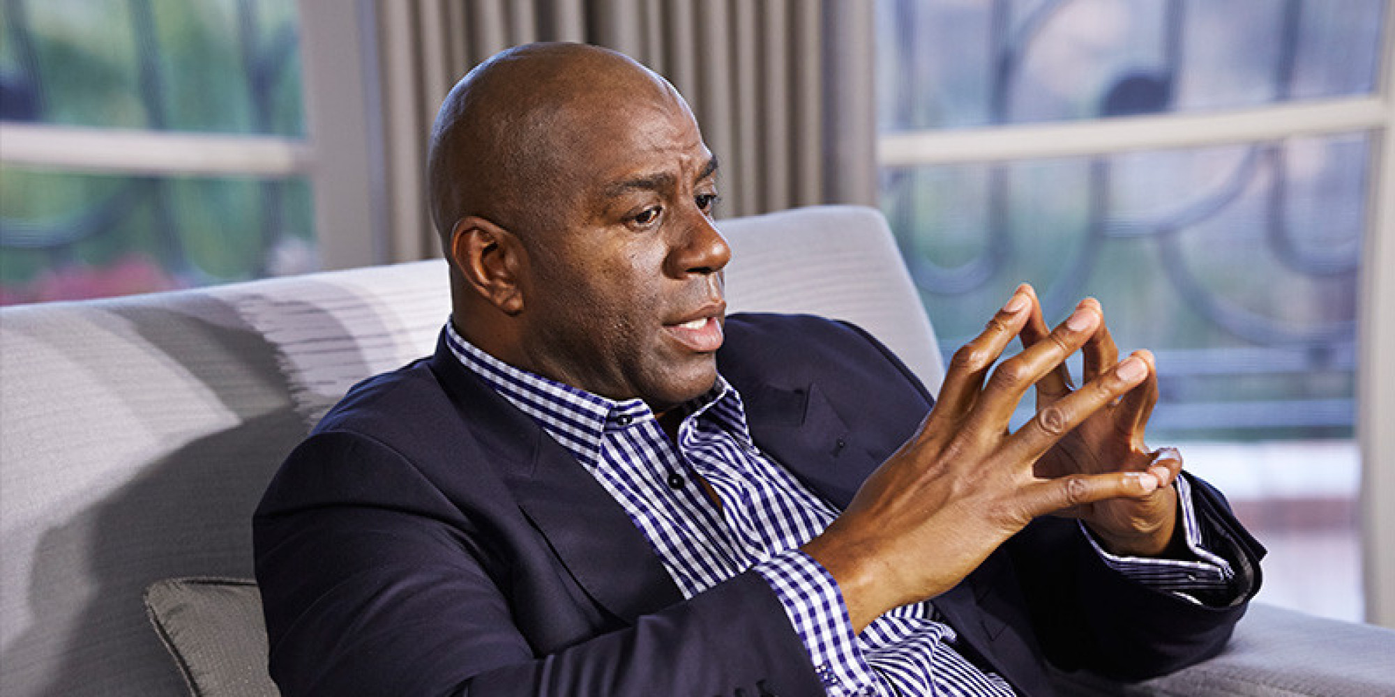 Magic Johnson Describes The Day He Found Out He Was HIV ...Magic Johnson Aids