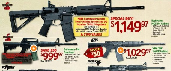 Buying Guns Has Become A New Post-Thanksgiving Tradition In