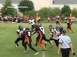 Peter Grasso Has Big Hit On Kickoff Return For Chicago Mustangs