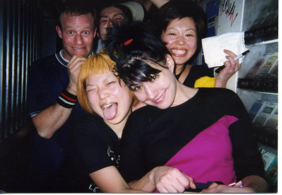 Kathleen Hanna With Fans In Kyoto An Photo Courtesy Of Dusty Lombardo Ifc Films Release