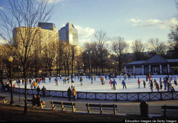 10 Outdoor Ice Rinks In The US You'll Want To Skate | HuffPost