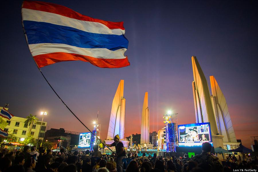antigovernment protesters bangkok