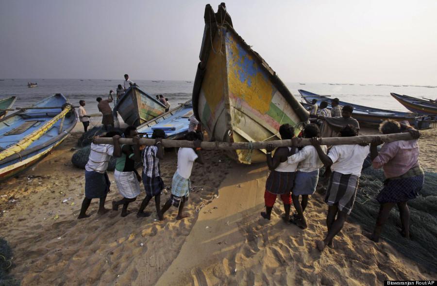 cyclone warning in puri