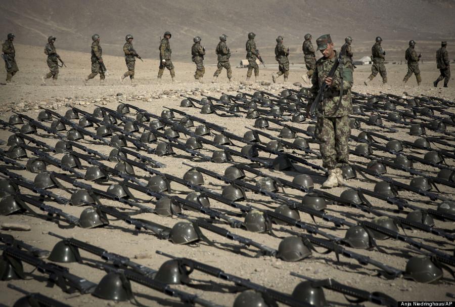 afghan army soldier kabul training facility