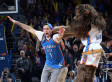 Thunder Fan Who Nailed Half-Court Shot Must Choose Between $20,000 And College Basketball Eligibility
