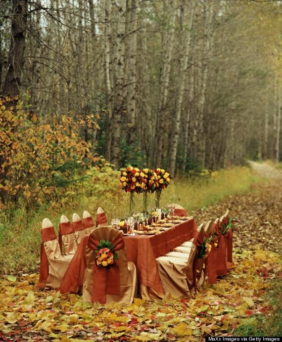 al fresco thanksgiving