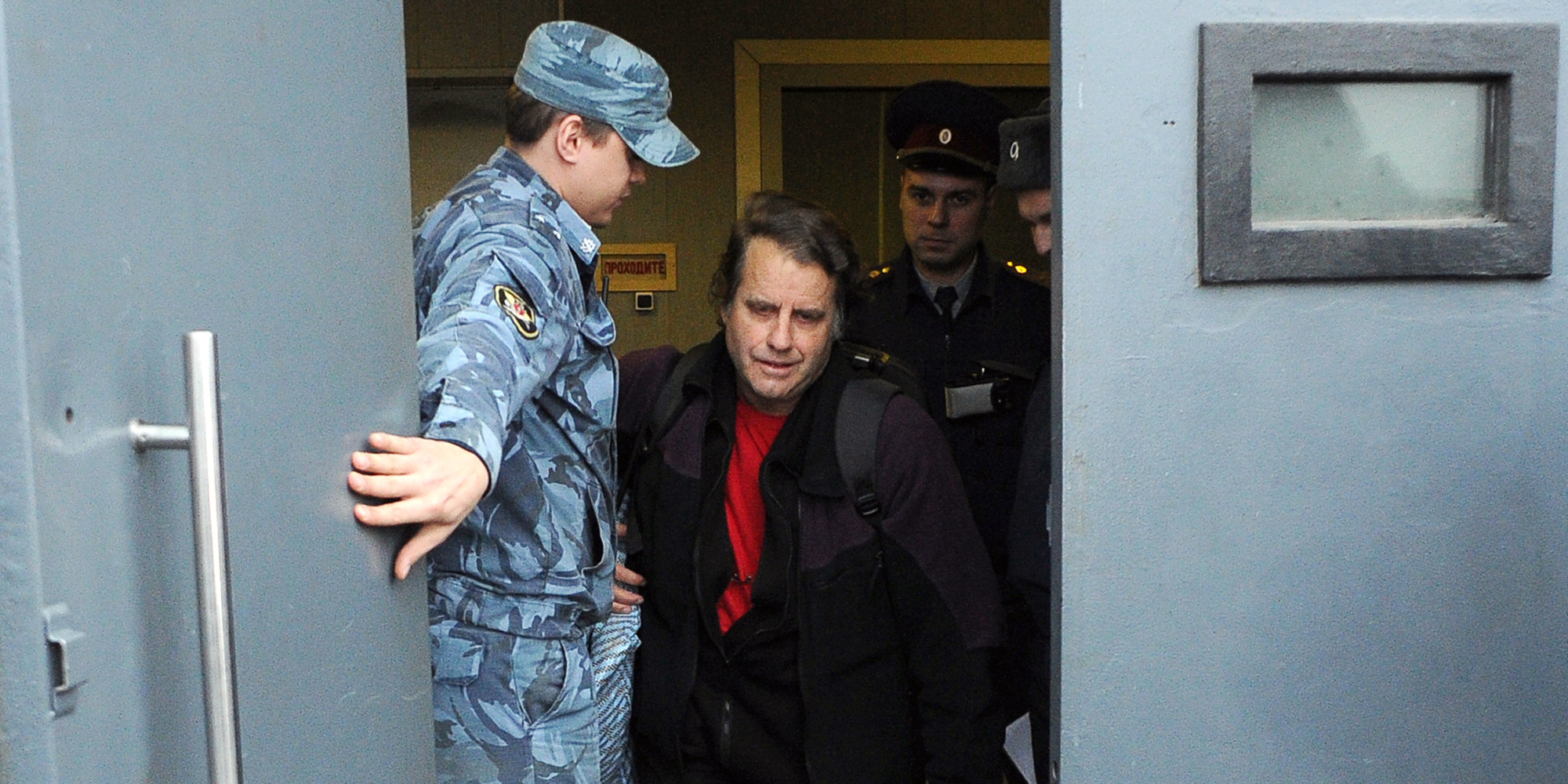 American Jailed In Russia For Protesting Climate Change Won't Back Down