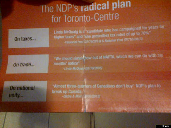 mulcair flyer