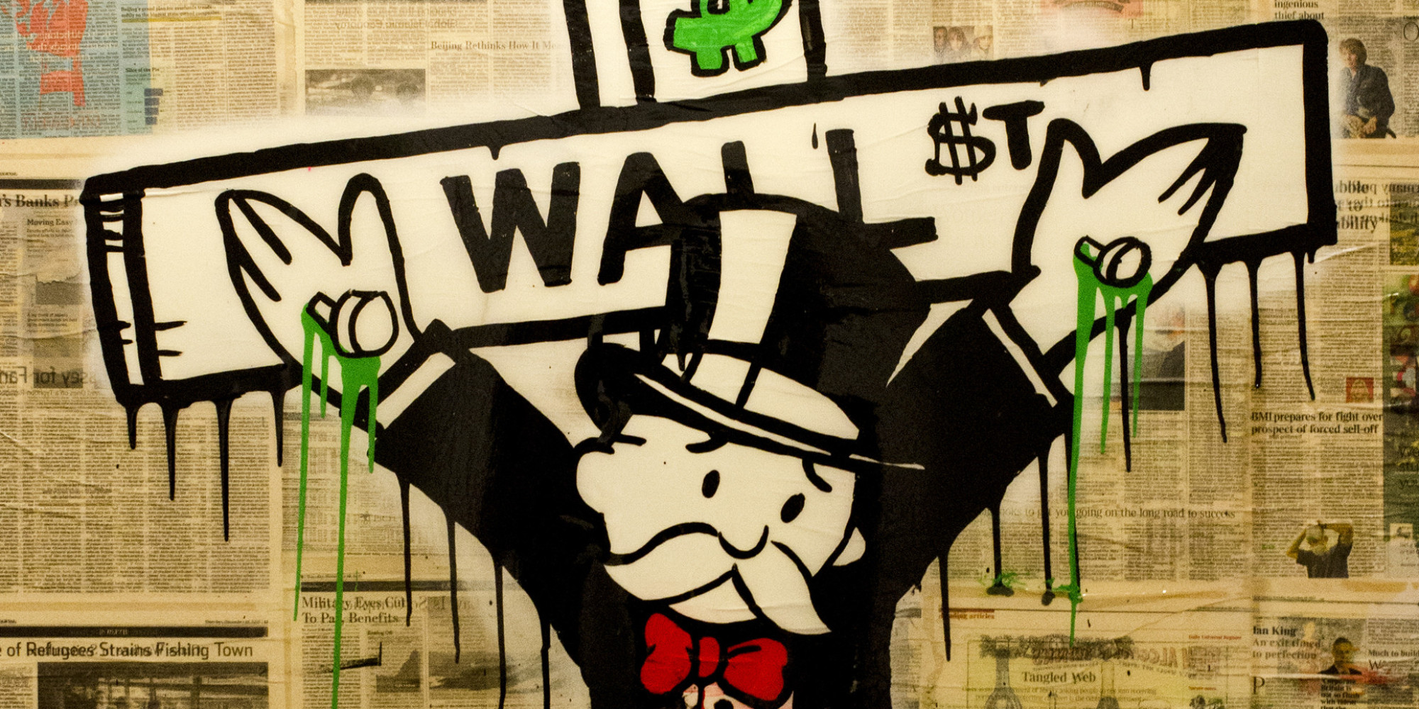 Alec Monopoly Interview: American Street Artist Takes On