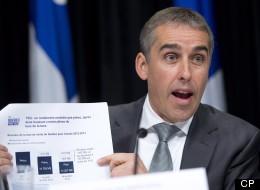 Budget provincial: le ministre Marceau revoit à la hausse ses prévisions de croissance économique (VIDÉO)