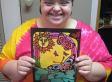 Jessie McIvor's 'Jessie's Arts': Facebook Gallery By B.C. Down Syndrome Artist Will Warm Your Heart (PHOTOS)