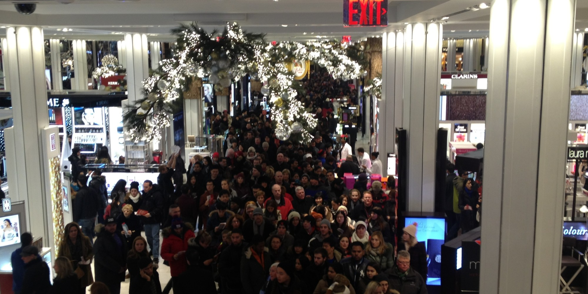 Macy s insite the scene inside the macy s flagship on thanksgiving was