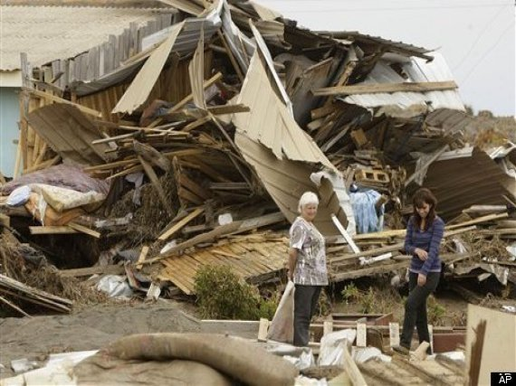 Chile Earthquake 'Megathrust': Worst Type Of Quake Per ...