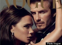 PICTURES: The Beckham's Loved-Up Cover