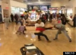 STUNNING VIDEO: Woman Tasered In Black Friday Melee