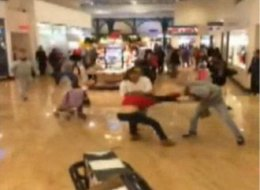 woman tasered black friday