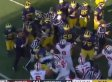 Michigan, Ohio State Fight Results In 3 Ejections, Marcus Hall Giving Middle Fingers To Fans (VIDEO/GIF)