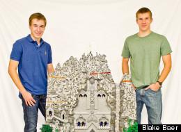 Teens' Epic 'Hobbit' Tribute Using 80,000 LEGOs