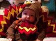 Jimmy Fallon's Baby Girl Is The Cutest Little Thanksgiving Turkey