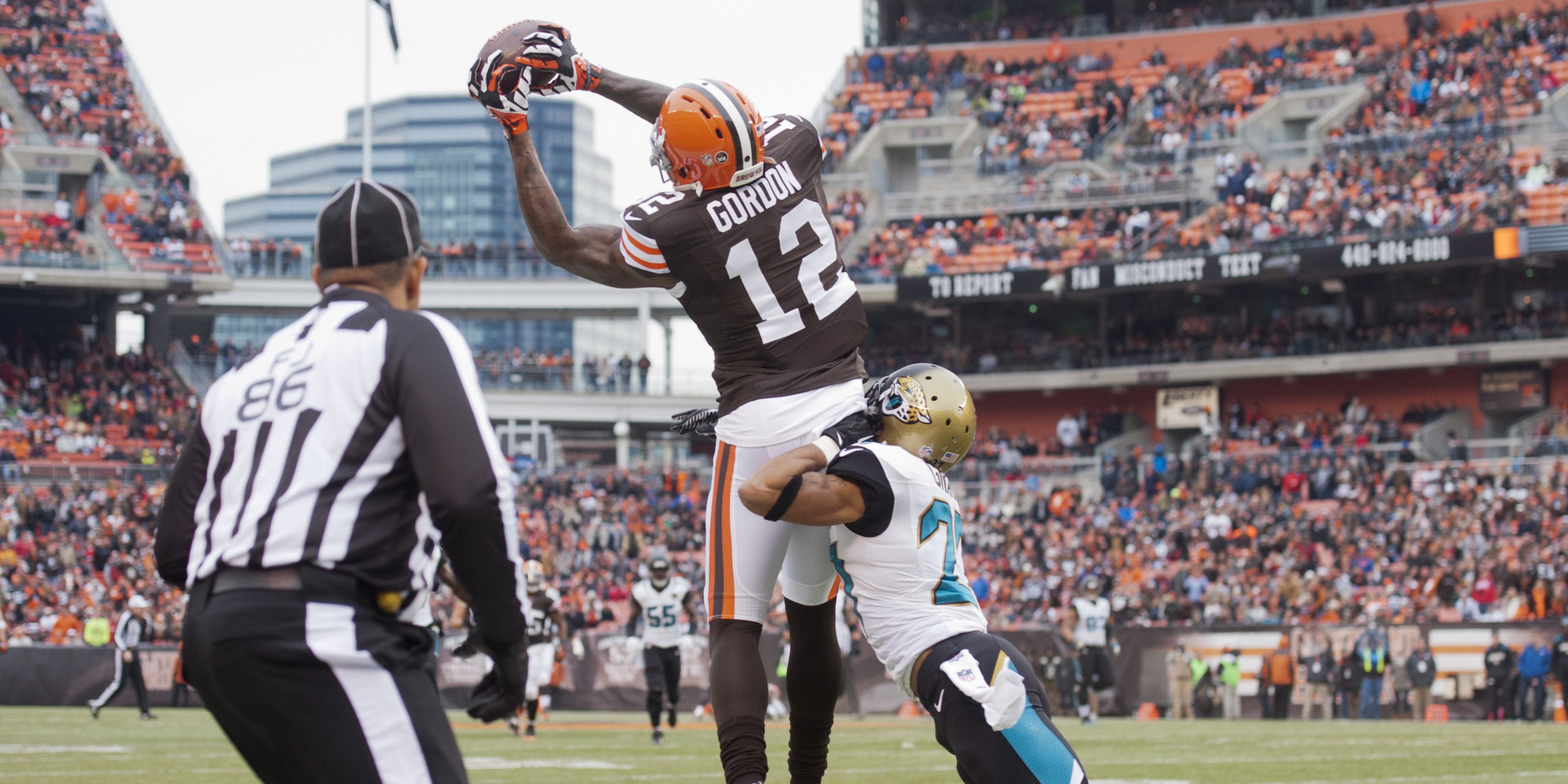 josh gordon made nfl history with this 95